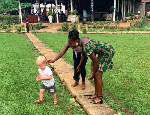 Haardracht in Ivoorkust